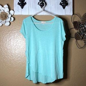 4/$25 Large blue blouse top